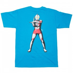 BAIT x Ultraman Men Specium Ray Tee (blue / turqoise)