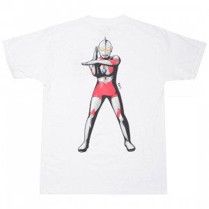 BAIT x Ultraman Men Specium Ray Tee (white)