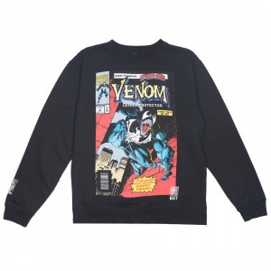 BAIT x Marvel Men Venom Lethal Protector #2 Crew Sweater (black)