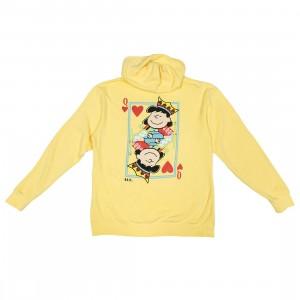 BAIT x Snoopy Women Queen Of Hearts Hoody (yellow)