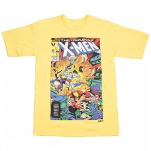 BAIT x Marvel Men The Uncanny X-MEN Tee (yellow)
