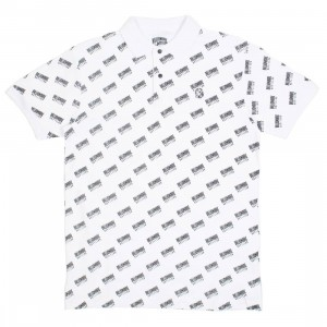 Billionaire Boys Club Men SS Polo Shirt (white)