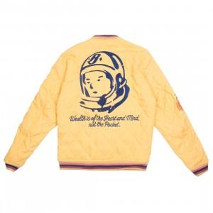 Billionaire Boys Club Men Inner Peace Jacket (yellow)