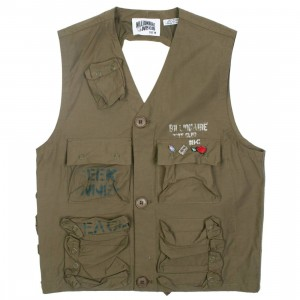 Billionaire Boys Club Men C1 Vest (green)