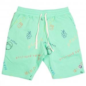 Billionaire Boys Club Men Jott Shorts (green / spring bud)