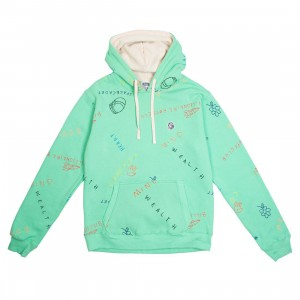 Billionaire Boys Club Men Scribble Hoody (green / spring bud)