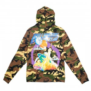 Billionaire Boys Club Men Crafts Hoody (brown / camo cocoon)