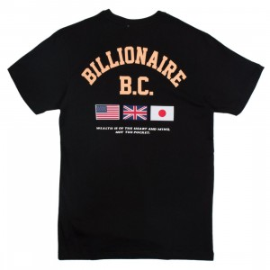 Billionaire Boys Club Men Helmet Tour Knit Tee (black)