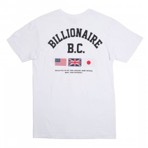 Billionaire Boys Club Men Helmet Tour Knit Tee (white)