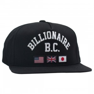 Billionaire Boys Club Snapback Cap (black)