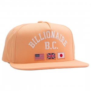Billionaire Boys Club Snapback Cap (pink / peach cobbler)