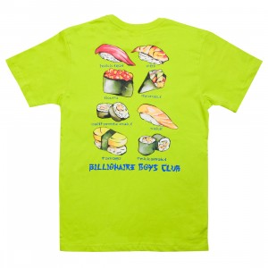 Billionaire Boys Club Men Spicy Mayo Tee (yellow / sulpher spring)