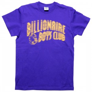 Billionaire Boys Club Men Dazed Tee (blue / deep blue purple)