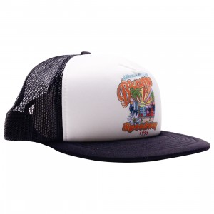 Billionaire Boys Club Biscayne Trucket Cap (black)