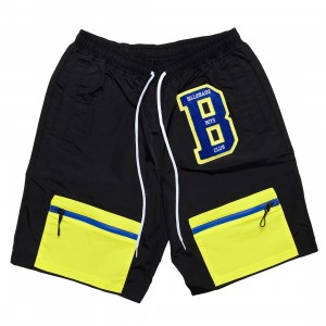 Billionaire Boys Club Men BB Hike Shorts (black)