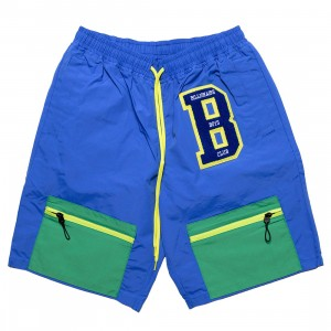 Billionaire Boys Club Men BB Hike Shorts (blue / green)