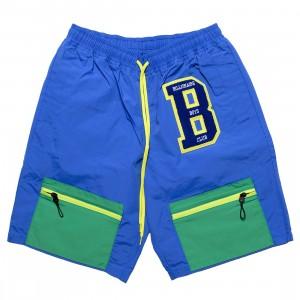 Billionaire Boys Club Men BB Hike Shorts (blue / green)