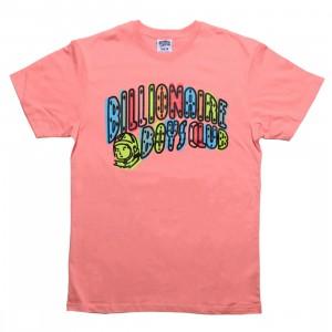 Billionaire Boys Club Men Off Registration Tee (pink / strawberry ice)