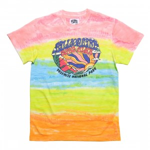 Billionaire Boys Club Men Boulder Knit Tee (pink / white / multi)