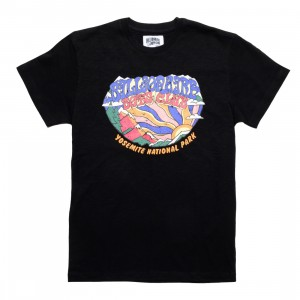 Billionaire Boys Club Men Yosemite Knit Tee (black)