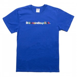 Billionaire Boys Club Men Billionaire Knit Tee (blue)