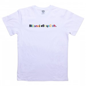 Billionaire Boys Club Men Billionaire Knit Tee (white)