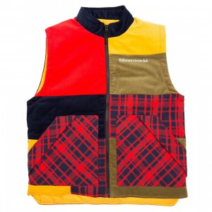 Billionaire Boys Club Men Moonlite Vest (red)