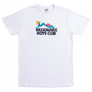 Billionaire Boys Club Men Elevation Tee (white)