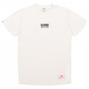 Billionaire Boys Club Men Straight Font Knit Tee (white)