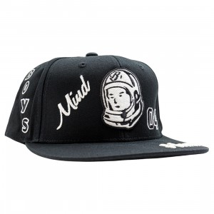 Billionaire Boys Club Captain Snapback Cap (black)