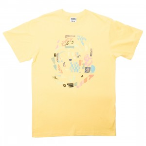 Billionaire Boys Club Men Helmet Tee (yellow / lemon)