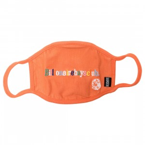 Billionaire Boys Club Letters Mask (orange)