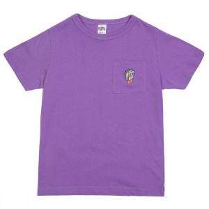 Billionaire Boys Club Little Kids Prepared Tee (purple)