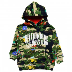 Billionaire Boys Club Little Kids Hidden Billions Hoody (army / reed)