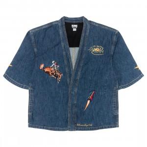 Billionaire Boys Club Men Space Rider Kimono Shirt (blue / denim)