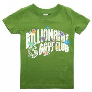 Billionaire Boys Club Little Kids Hiking Tee (green)