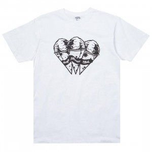 Billionaire Boys Club Men Space Cones Tee (white)