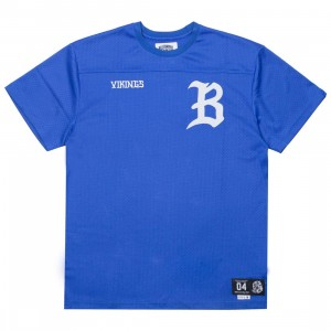 Billionaire Boys Club Men Starter Knit Tee (blue / dazzling)