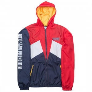 Billionaire Boys Club Men Breaker Windbreaker Jacket (multi / peacoat)