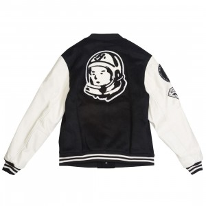 Billionaire Boys Club Men BB Letterman Jacket (black)