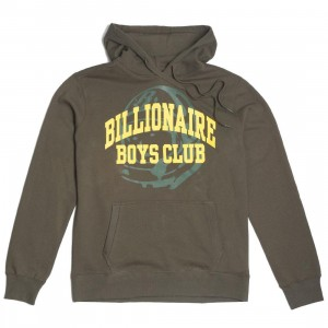 Billionaire Boys Club Men Collegiate Hoody (green / white)
