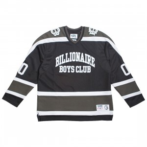 Billionaire Boys Club Men Don't Give A Puck Long Sleeve Knit (black)