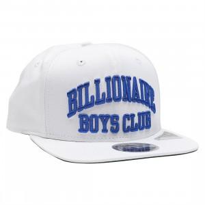 Billionaire Boys Club Bent Snapback Cap (white)