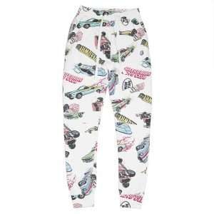 Billionaire Boys Club Men Speedways Sweatpants (white)
