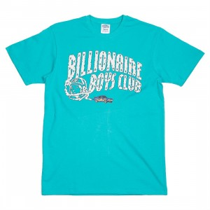 Billionaire Boys Club Men Nitro Arch Tee (blue / baltic)