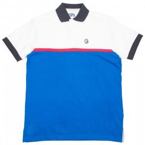 Billionaire Boys Club Men Smog Check Polo Shirt (white)