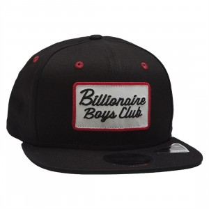 Billionaire Boys Club Patch Snapback Cap (black)