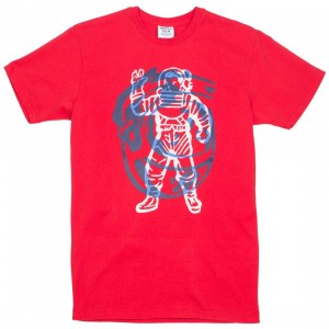 Billionaire Boys Club Men Collide Tee (red)