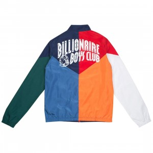 Billionaire Boys Club Men Block And Brake Jacket (white)