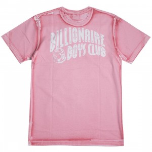 Billionaire Boys Club Men Arch Panel SS Tee (pink)